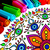 Mandala Coloring Pages иконка