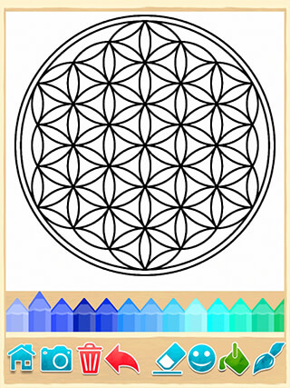Mandala Coloring Pages скриншот 3