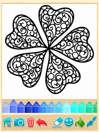 Mandala Coloring Pages скриншот 4