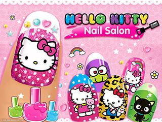 Hello Kitty Nail Salon скриншот 1