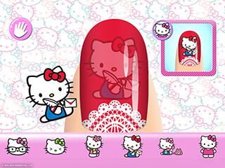 Hello Kitty Nail Salon скриншот 3