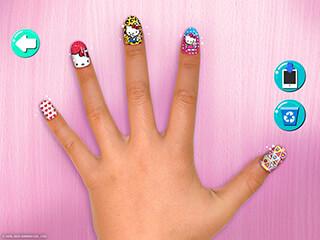 Hello Kitty Nail Salon скриншот 4