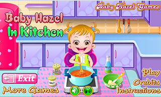 Baby Hazel: Kitchen Time скриншот 2