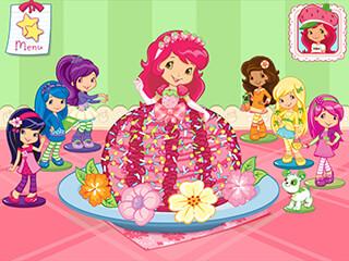 Strawberry Shortcake: Bake Shop скриншот 1