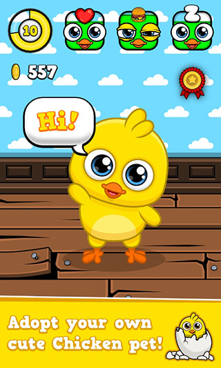 My Chicken: Virtual Pet Game скриншот 1