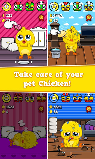 My Chicken: Virtual Pet Game скриншот 2