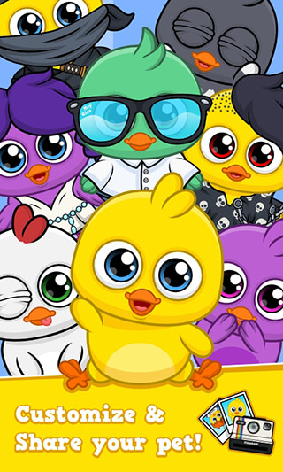 My Chicken: Virtual Pet Game скриншот 3