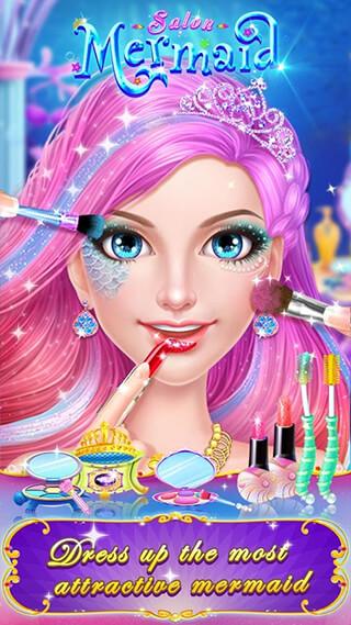 Mermaid Makeup Salon скриншот 2