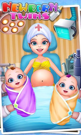 Newborn Twins: Baby Care скриншот 1