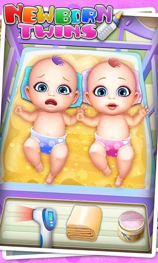 Newborn Twins: Baby Care скриншот 2