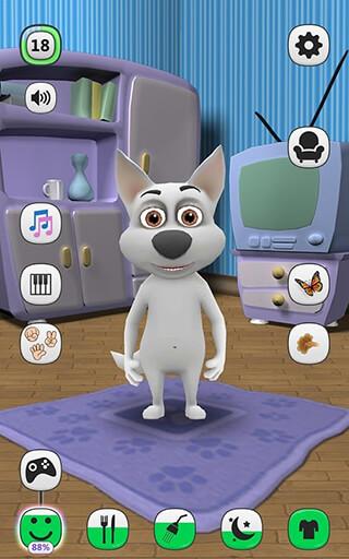 My Talking Dog: Virtual Pet скриншот 1