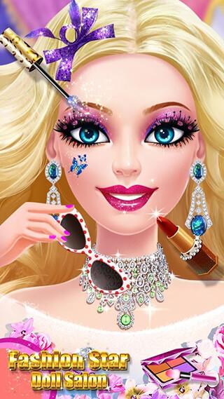 Doll Makeover Salon скриншот 1