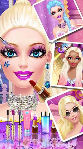 Doll Makeover Salon скриншот 2