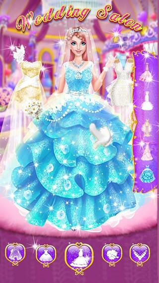 Wedding Salon: Girls Dress Up скриншот 1