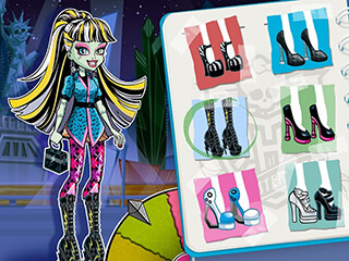 Monster High: Frightful Fashion скриншот 3