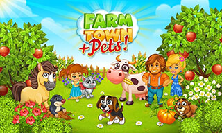 Farm Town: Happy City Day Story скриншот 1