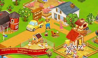Farm Town: Happy City Day Story скриншот 2