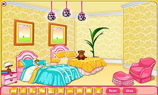 Girly Room Decoration Game скриншот 3