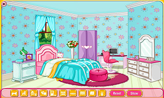 Girly Room Decoration Game скриншот 4