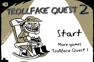 Trollface Mission 2 скриншот 1