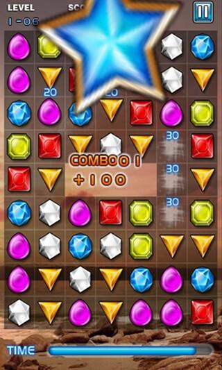 Jewels Star скриншот 3