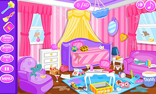 Princess Room Cleanup скриншот 3