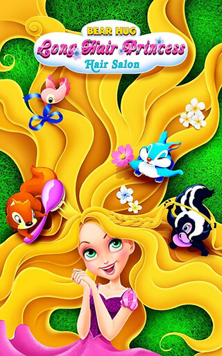 Long Hair Princess: Hair Salon скриншот 1