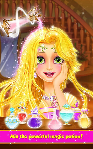 Long Hair Princess: Hair Salon скриншот 2