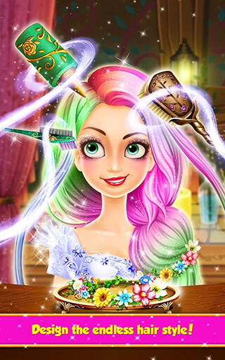 Long Hair Princess: Hair Salon скриншот 3