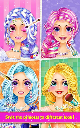Long Hair Princess: Hair Salon скриншот 4