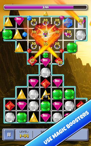 Match 3 Jewels скриншот 2