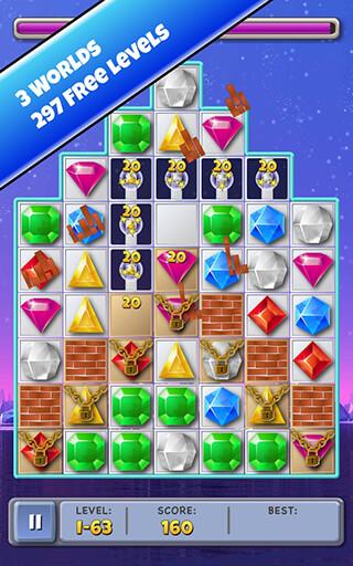 Match 3 Jewels скриншот 4