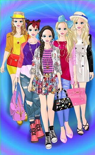 Princess Doll Fashion Dress Up скриншот 1