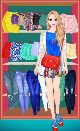 Princess Doll Fashion Dress Up скриншот 4