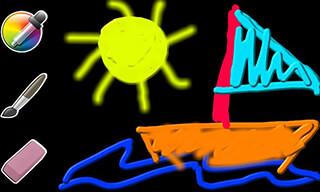 Kids Paint Easy скриншот 1