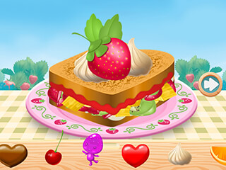 Strawberry Shortcake: Food Fair скриншот 2