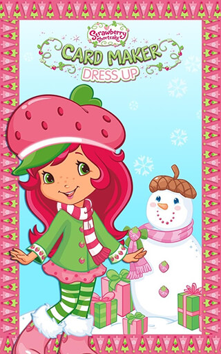 Strawberry Shortcake: Dress Up скриншот 1