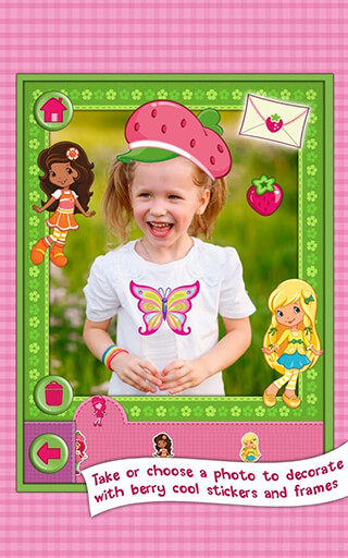 Strawberry Shortcake: Dress Up скриншот 4