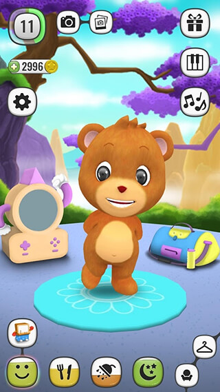 My Talking Panda: Virtual Pet скриншот 2