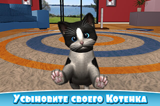 Daily Kitten: Virtual Cat Pet скриншот 1