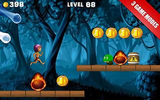 Jungle Castle Run скриншот 2