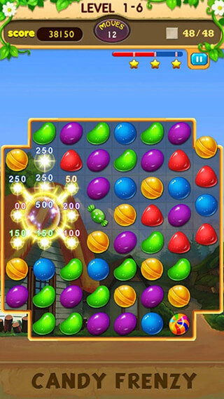 Candy Frenzy скриншот 1