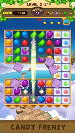 Candy Frenzy скриншот 2