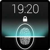 Fingerprint Lock Screen Prank иконка