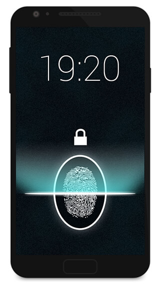 Fingerprint Lock Screen Prank скриншот 1