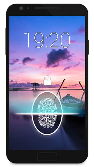 Fingerprint Lock Screen Prank скриншот 3