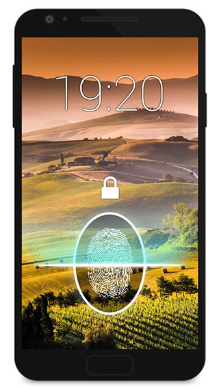 Fingerprint Lock Screen Prank скриншот 4