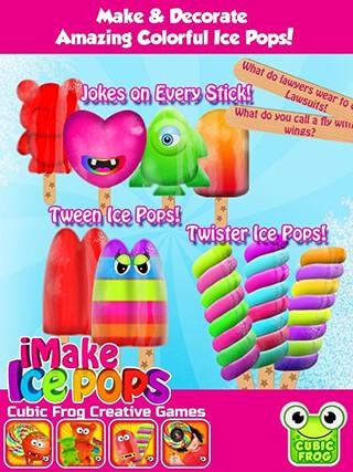 iMake Ice Pops: Ice Pop Maker скриншот 1
