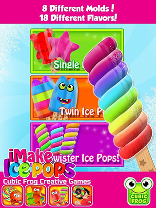 iMake Ice Pops: Ice Pop Maker скриншот 2