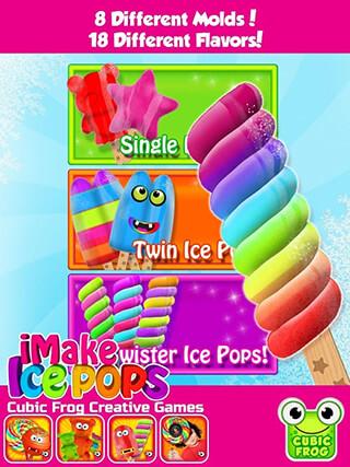iMake Ice Pops: Ice Pop Maker скриншот 2